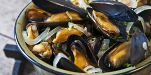 Herbs Mussels