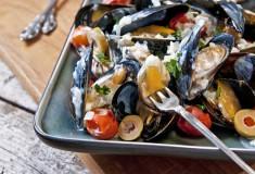 Greek Style Mussels